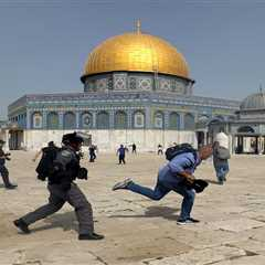 Instagram reportedly removed posts about a holy Islamic mosque after the company associated #alAqsa with a terrorist organization amid Palestinian-Israeli violence